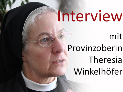 Interview mit Schwester Theresia Winkelhöfer